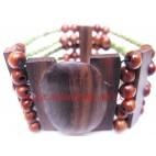 Wooden Clasps Bracelets