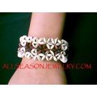 Wood Coco Bracelets Beads