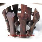 Wooden Bracelets Organic Stretch