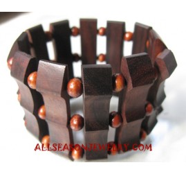Woods Bracelet Ethnic Stretch