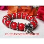 Red Stone Bracelets