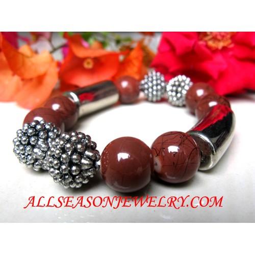 Stainless Stone Bracelet