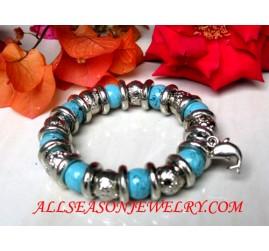 Stone Bracelet Stainless