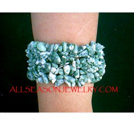 Beaded Stone Bracelets