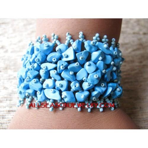 Hemp Bracelet Stone