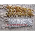 Organic Beads Stone Bracelet