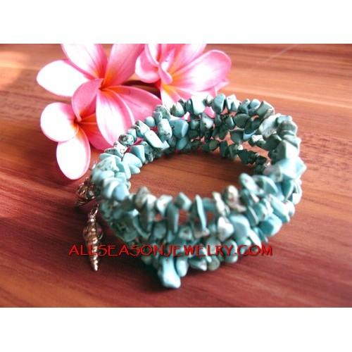 Women Stone Beads Bracelet