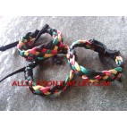 Rasta Hemp Bracelets