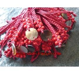 Shell Hemps Bracelets
