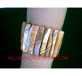 Stretches SeaShells Bracelets Stick