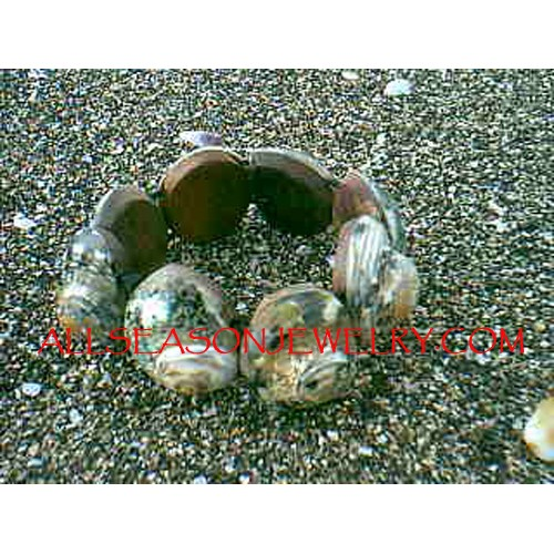 Organic Seashells Bracelets
