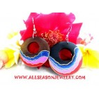 Accessories Painted Earrings