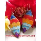 Handmade Wooden Earring