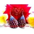 Wooden Earring Handmade