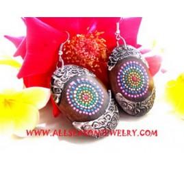 Wooden Earrings Women