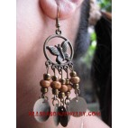 Beading Wood Earring