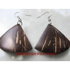Coco Wood Earring Natural