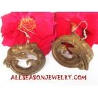 Coco Wooden Earrings