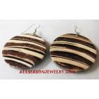 Coconut Wooden Earring
