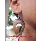 Coconuts Woods Earring