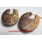 Coconuts Woods Earrings