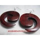 Earring Sono Wood