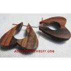 Earring Wood Piercing