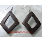 Earring Wooden Coco