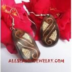 Earring Woods Handmade