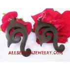 Earrings Wood Carvings
