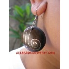 Fashion Wood Earring Stainless