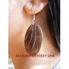 Girl Earring Wooden