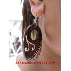 Girls Earring Wooden