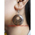 Ladies Wood Earring Handmade