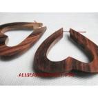 Organic Earrings Wooden