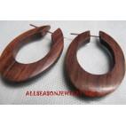 Organic Wooden Earring