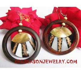 Seashell Woods Earring