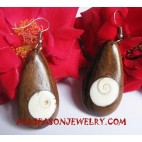 Seashells Woods Earrings