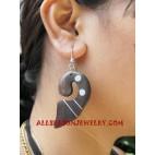 Shells Wooden Earring