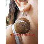 Women Earrings Wood