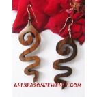 Women Wooden Earrings