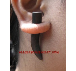 Wooden Sono Earring