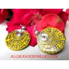 Earring Stainless Shell