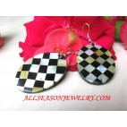 Fashion Earring Women Chest Design Seashells