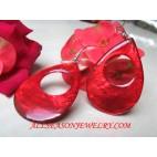 Red Jewelry Earrings