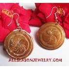 Carving Seashells Earring