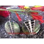 Coral Earring Shells Handmade Design
