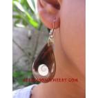Earring Seashell Handmade