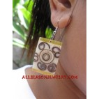 Earring Seashell Resin