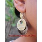 Earring Shells Double